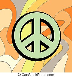 peace color symbol
