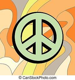 peace color symbol