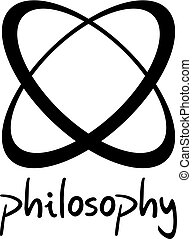philosophy flat symbol - Creative design of philosophy flat...