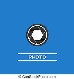 Photo simple icon
