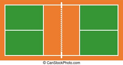 pickle ball court - Creative design of pickle ball court