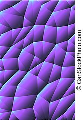 pieces purple background