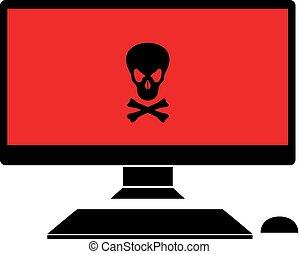 pirate computer symbol