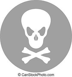 poison symbol - Creative design of poison symbol