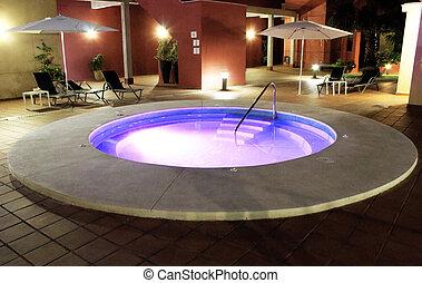 Creative design of Pool jacuzzi