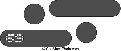 position symbol - Creative design of position symbol