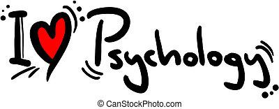 Psychology love - Creative design of Psychology love