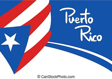 Puerto Rico banner background