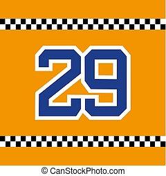 racing dorsal 29 - creative design of racing dorsal 29