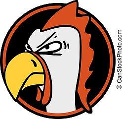 rebel chicken - Creative design of rebel chicken