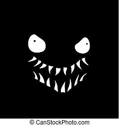 rebel monster in the dark