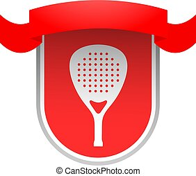 red padel club emblem