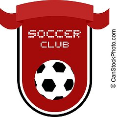 red soccer club emblem
