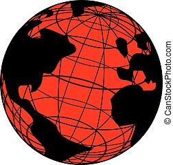 Red world - Creative design of Red world
