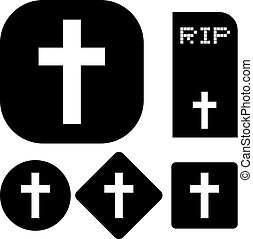 RIP symbols - Creative design of RIP symbols