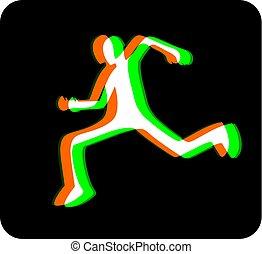 runner visual effect icon