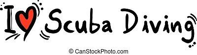 Scuba Diving love