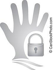 Security symbol - Creative design of Security symbol