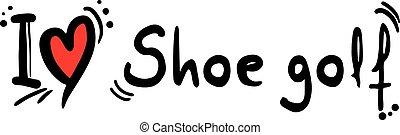 shoe golf love
