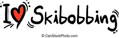 Skibobbing love