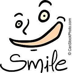 smile face illustration