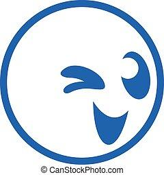 smile icon face