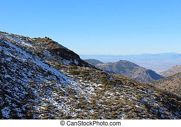Creative design of Snow montain
