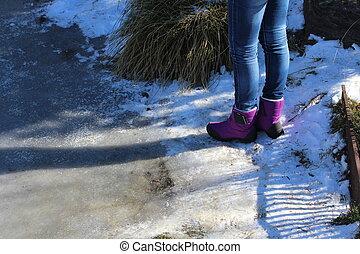 Snow scene