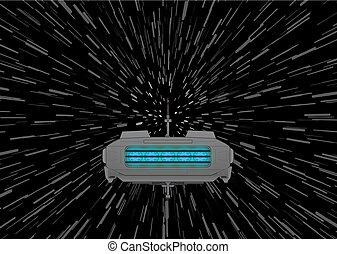 spaceship fast travel