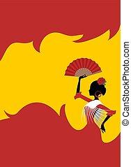 spanish dancing draw