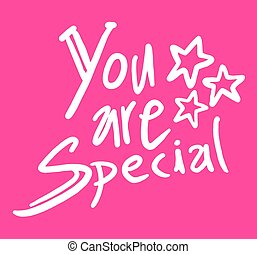 special message - Creative design of special message