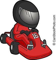 speed racer number 16 - Creative design of speed racer...
