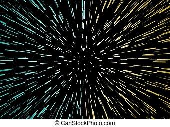 speed unvierse illustration