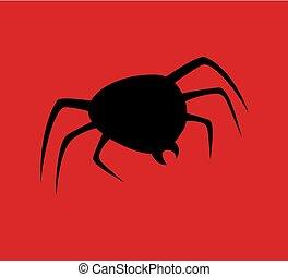 spider symbol illustration - Creative design of spider...