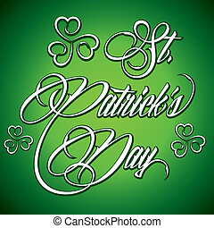 Creative design of St Patrick's Day