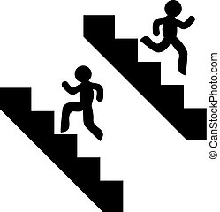 stairs symbol design