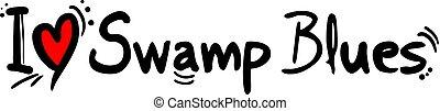 Swamp Blues music style - Creative design of Swamp Blues ...