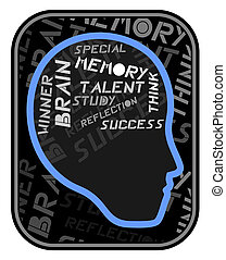 talent brain - Creative design of talent brain