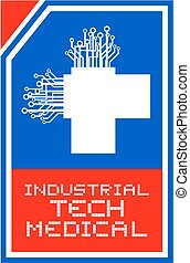 tech medical symbol