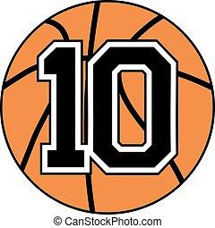 ten basket symbol