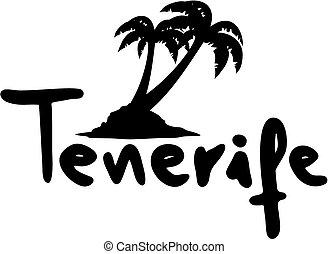 Creative design of Tenerife holidays