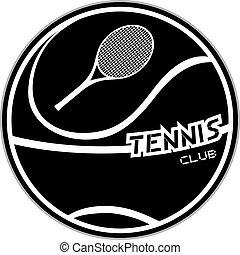 Tennis emblem design