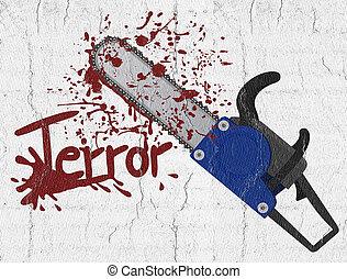 Terror chainsaw