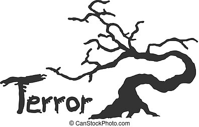 terror tree symbol - Creative design of terror tree symbol