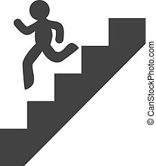 to down stairs