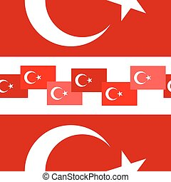 Turkey seamless background