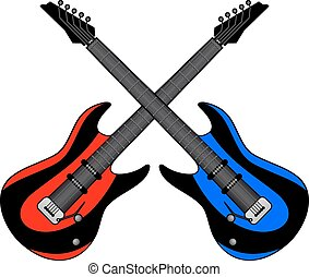 Two guitar
