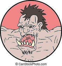 ugly monster - Creative design of ugly monster