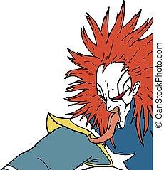 ugly monster kabuki - Creative design of ugly monster kabuki