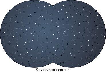 universe night sky vision
